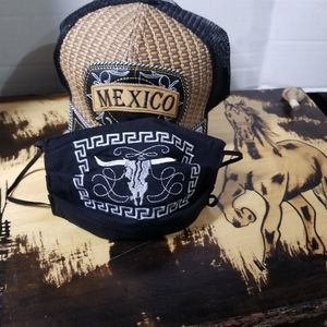 Talavera Cowboy Embroidered MASK